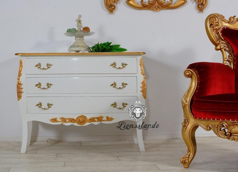 Luxus Kommode Weiß