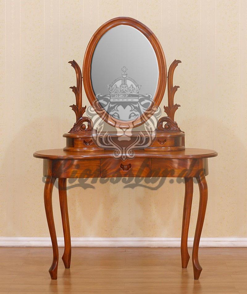 Spiegelkommode Barock Mahagoni Holz Sk.282