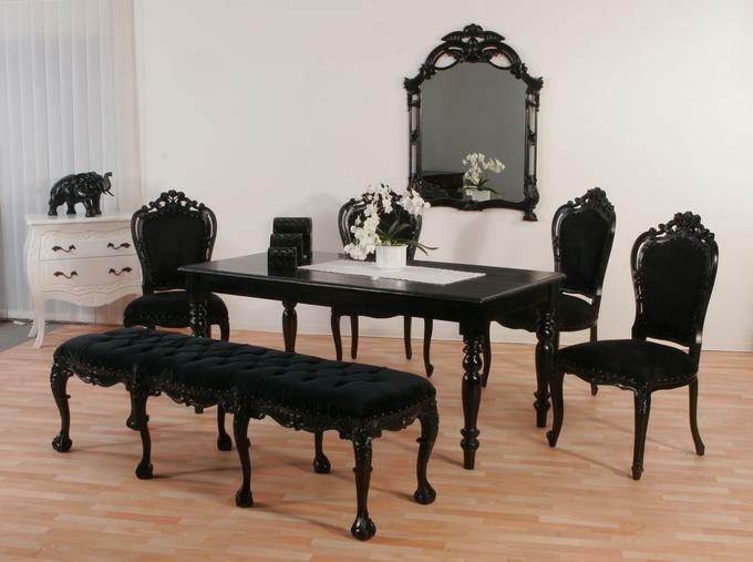 Luxus Stuhl Barock Soiree