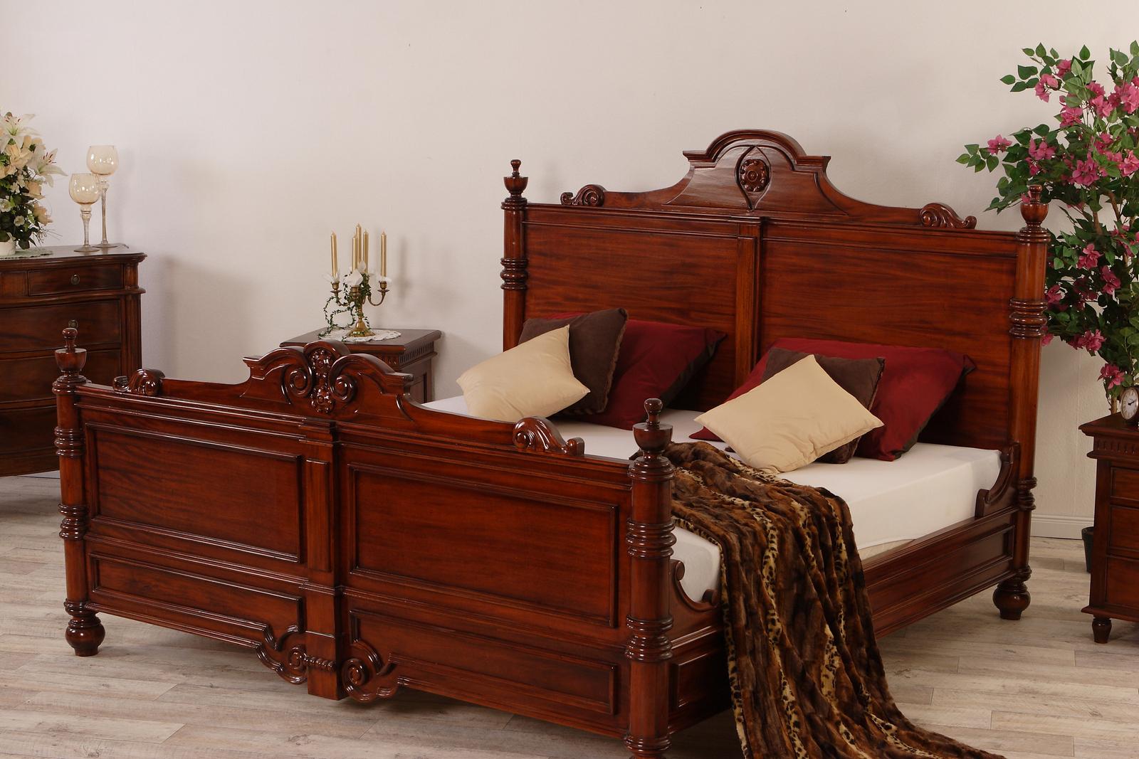 Kolonialstil Bett