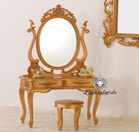 Spiegelschrank Barock Gold Sissi
