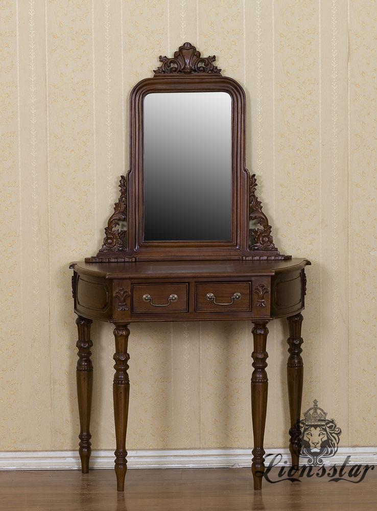 Spiegelkommode Barock Mahagoni Holz Sk.275