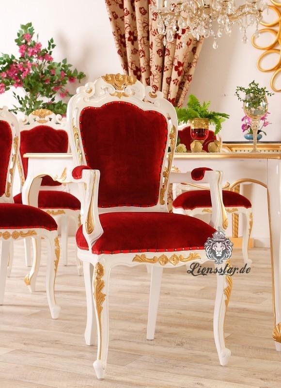 Luxus Stuhl Barockstil