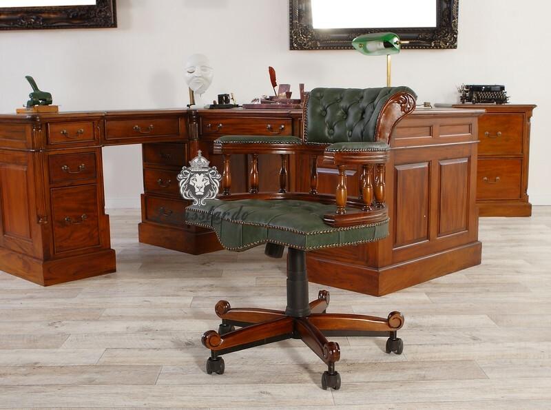 Schreibtischstuhl aus Massivholz
