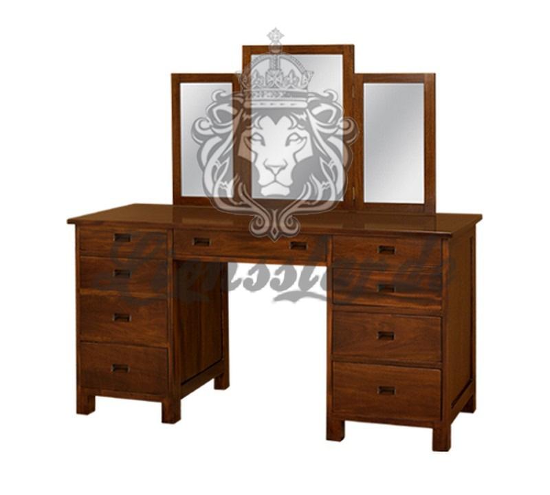 Spiegelkommode Barock Mahagoni Holz Sk.211