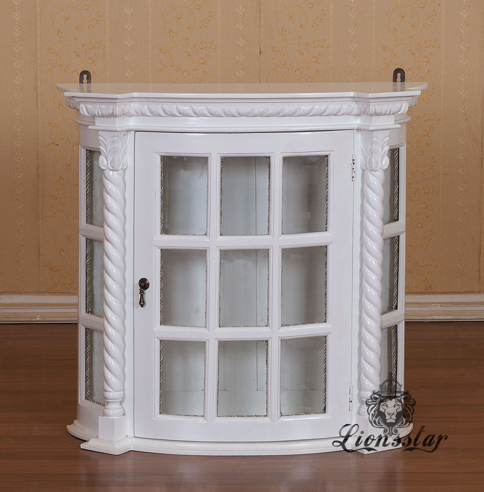 Barockstil Vitrine Simple