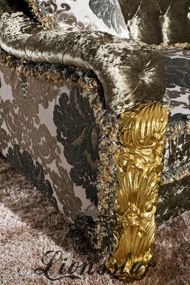 Luxus Couchgarnitur im Barockstil