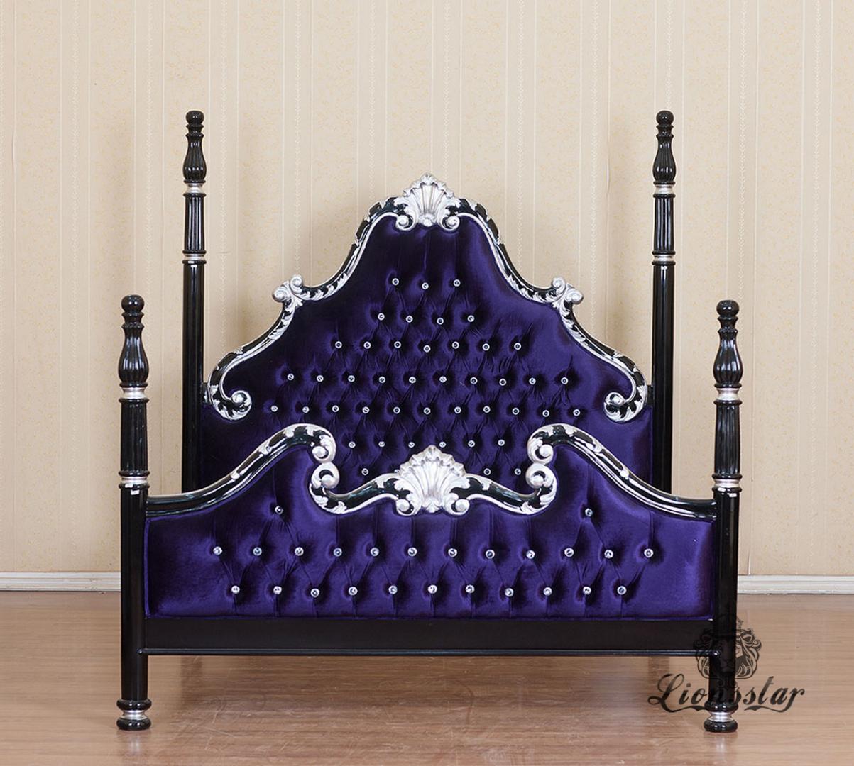 Bett Samt Luxury