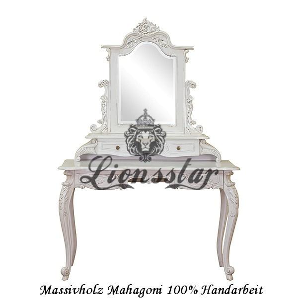 Spiegelkommode Barock Mahagoni Holz Sk.134