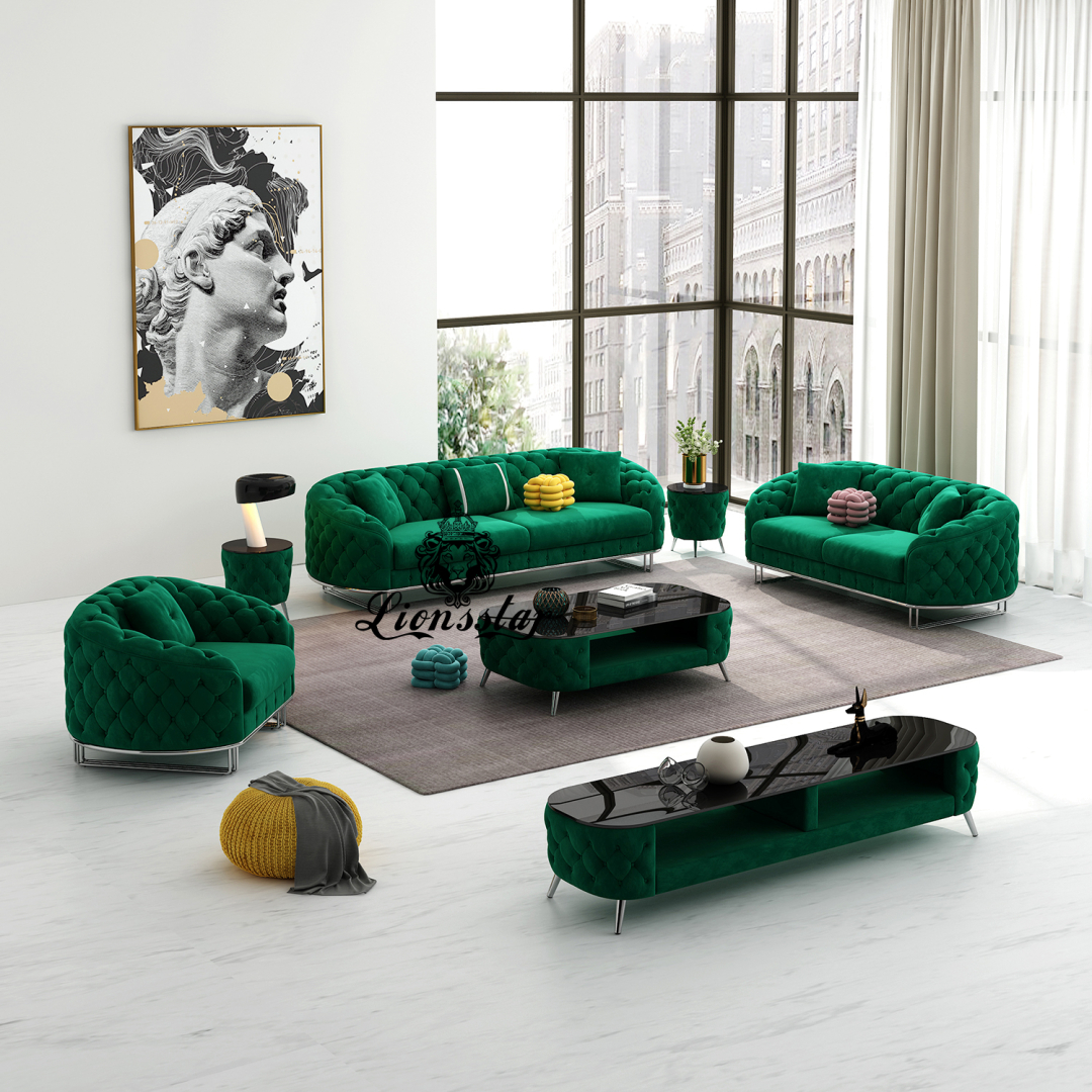 Luxus Designer Sofaset Nizza