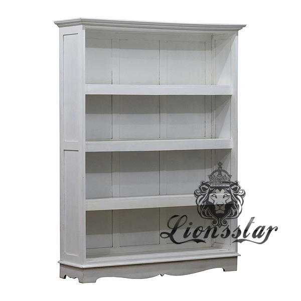 Antik Bücherregal Weiß