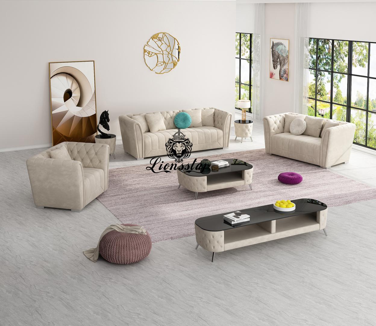 Luxus Design Sofa Set Ontario