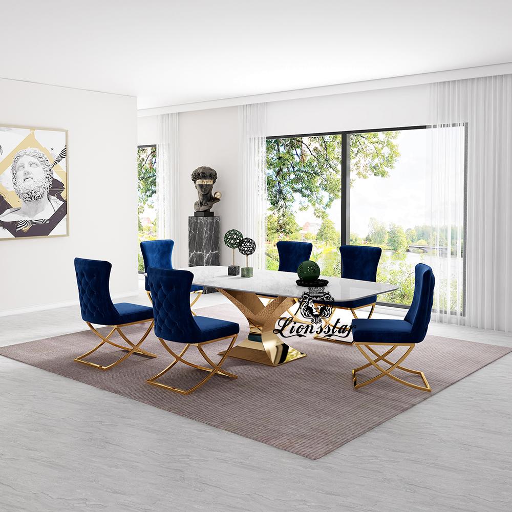 Luxus Designer Esstisch New York