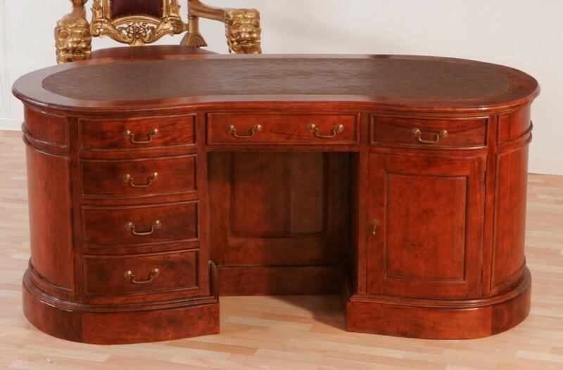 Schreibtisch Rund