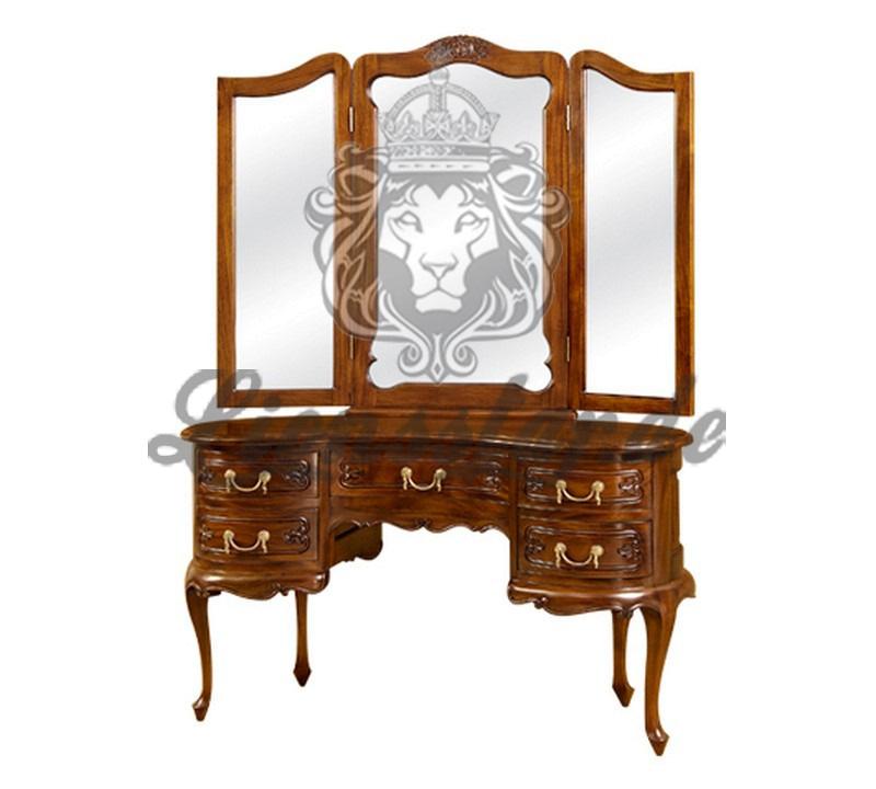 Spiegelkommode Barock Mahagoni Holz Sk.202