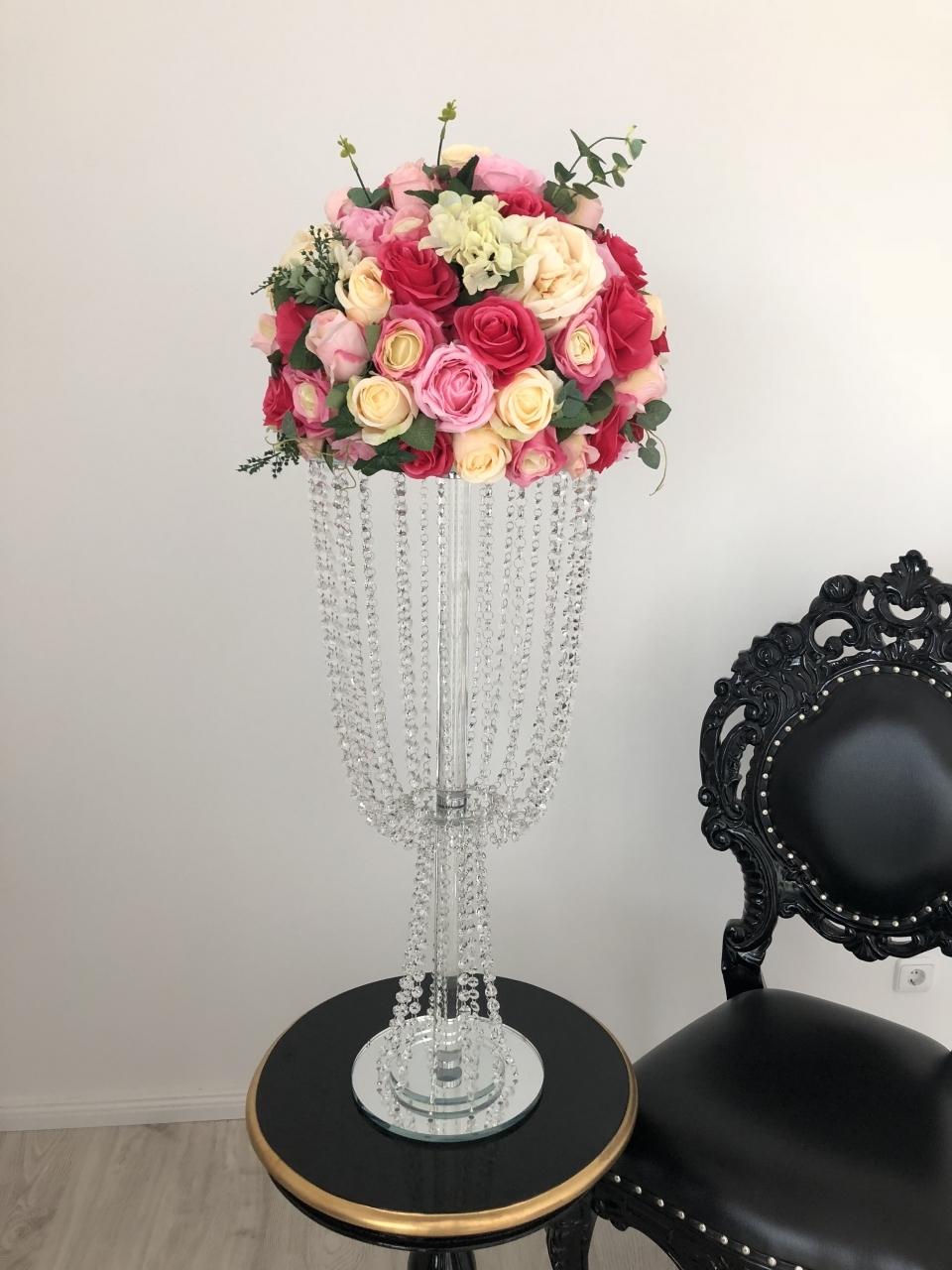 Blumenständer Kristall
