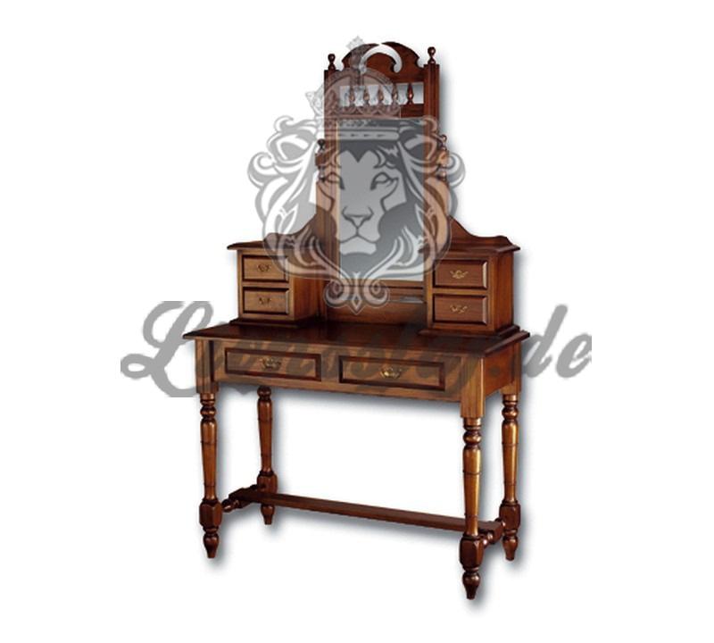 Spiegelkommode Barock Mahagoni Holz Sk.206