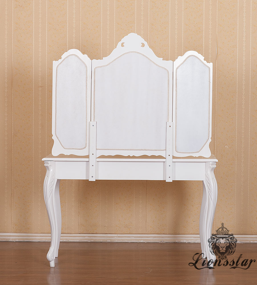 Spiegelkommode Barock Mahagoni Holz Sk.226