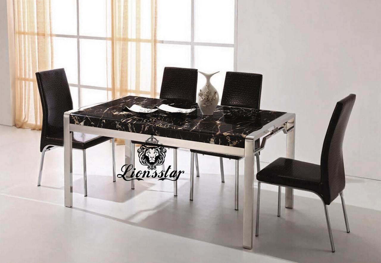 Designer Tischset Schwarz