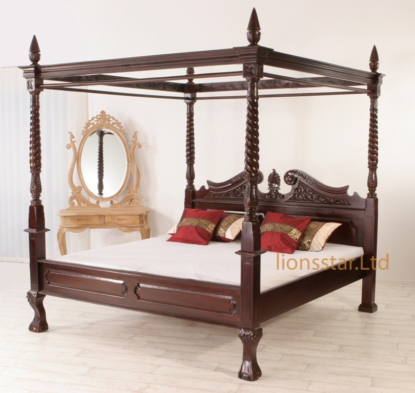 himmelbett lionsstar gmbh. Black Bedroom Furniture Sets. Home Design Ideas