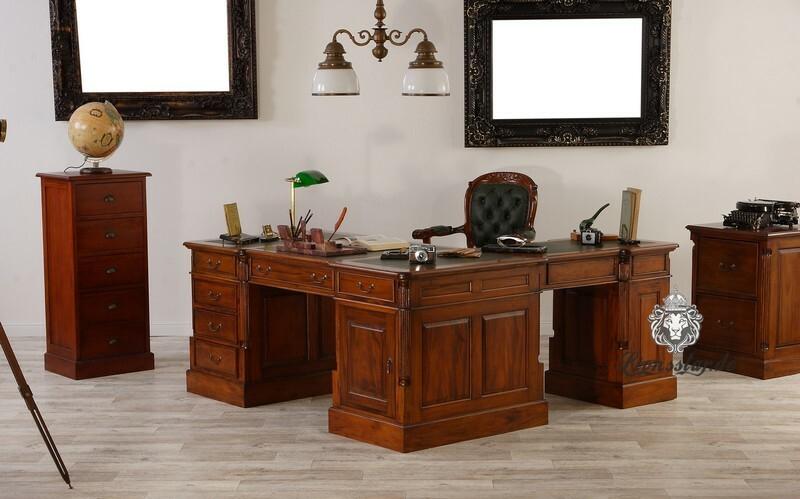Schreibtisch R Form