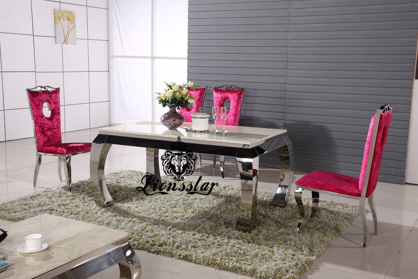 Design Tischset Samt