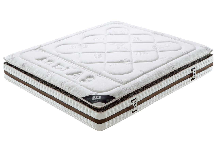 Pocket Spring Matratze mit Taschenfederkern aus Silberfasern