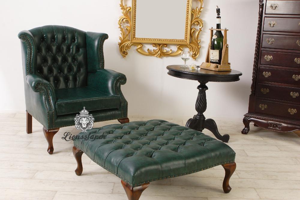 Relaxsessel Leder Grün