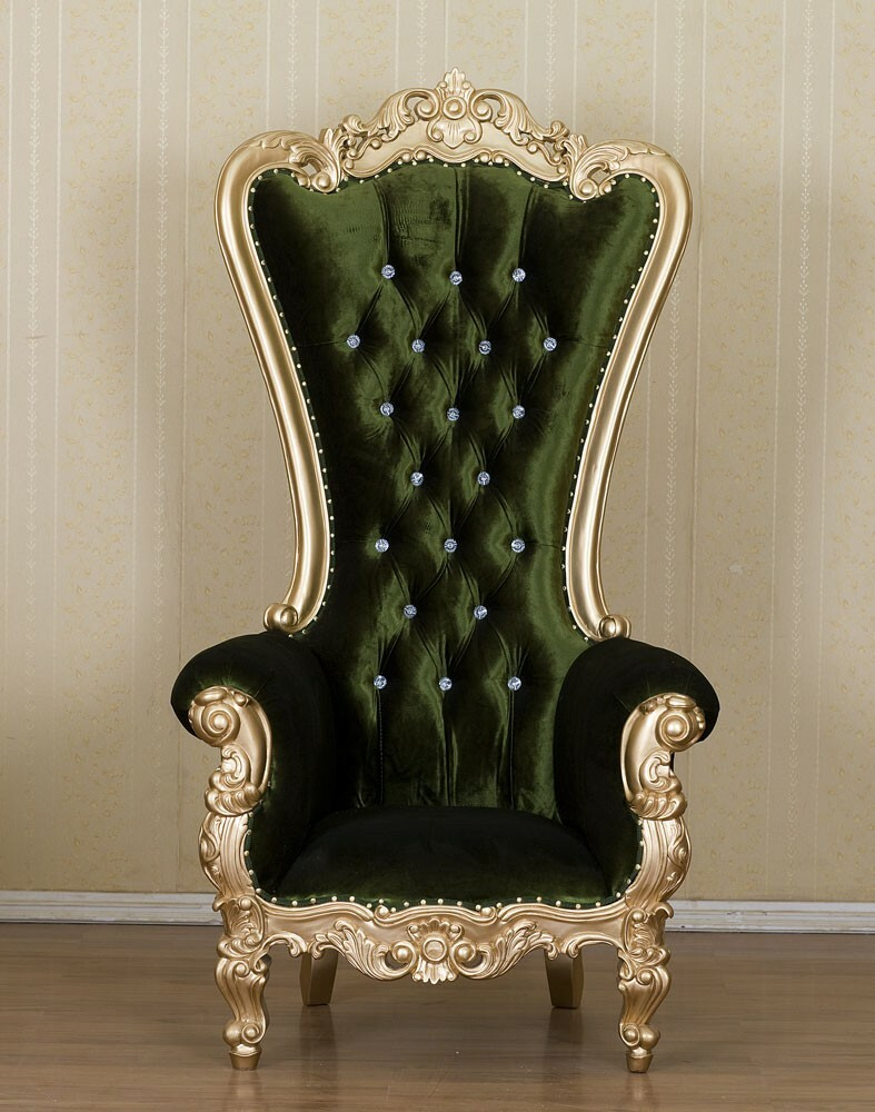 King Chair Empire Samt