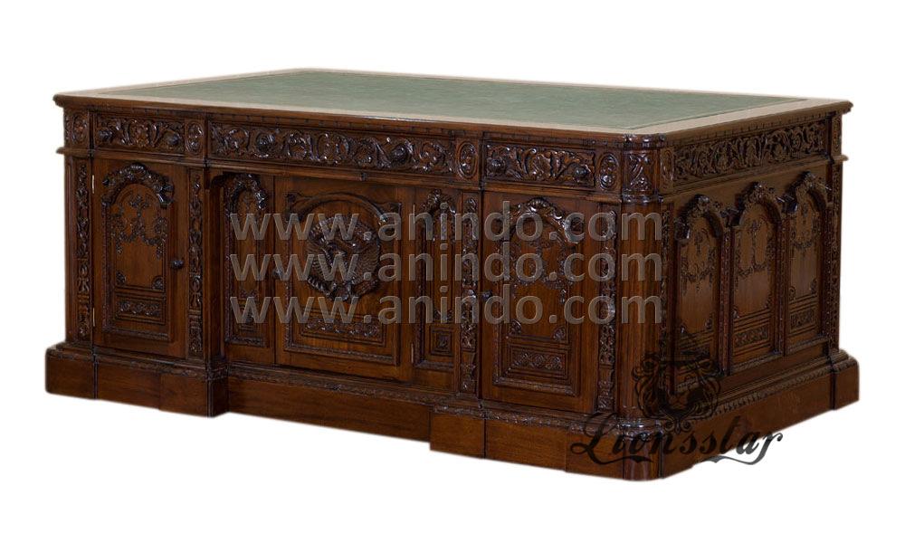 Antik Schreibtisch Pompös