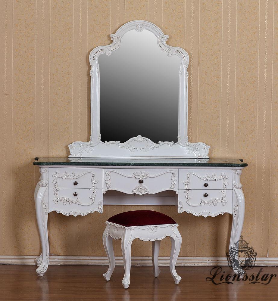 Spiegelkommode Barock Mahagoni Holz Sk.262