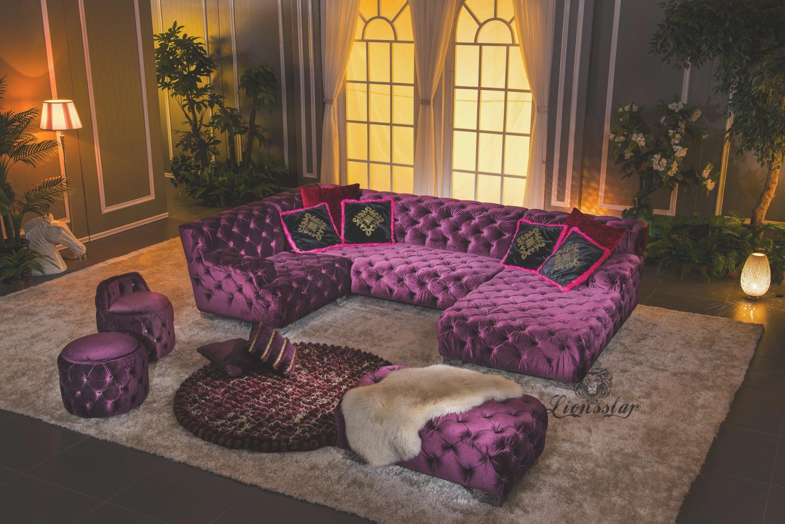 luxus sofa ihr stilvolles wohnzimmer lionsstar gmbh. Black Bedroom Furniture Sets. Home Design Ideas