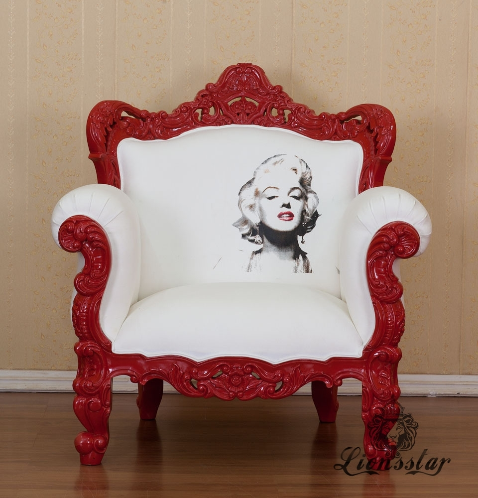 Thronstuhl Marilyn Monroe