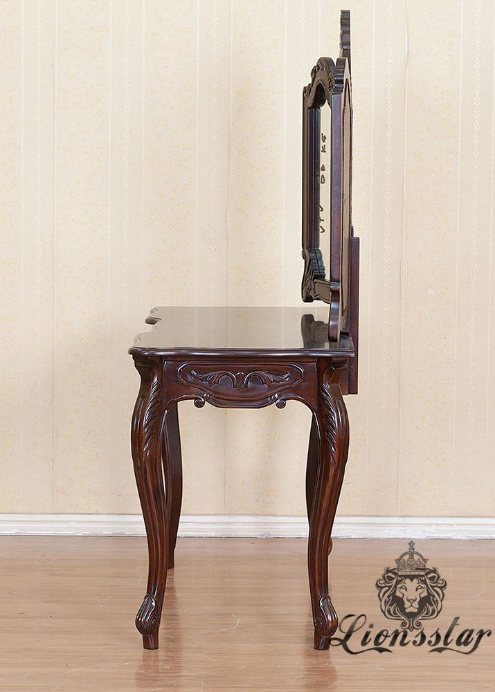 Spiegelkommode Barock Mahagoni Holz Sk.228