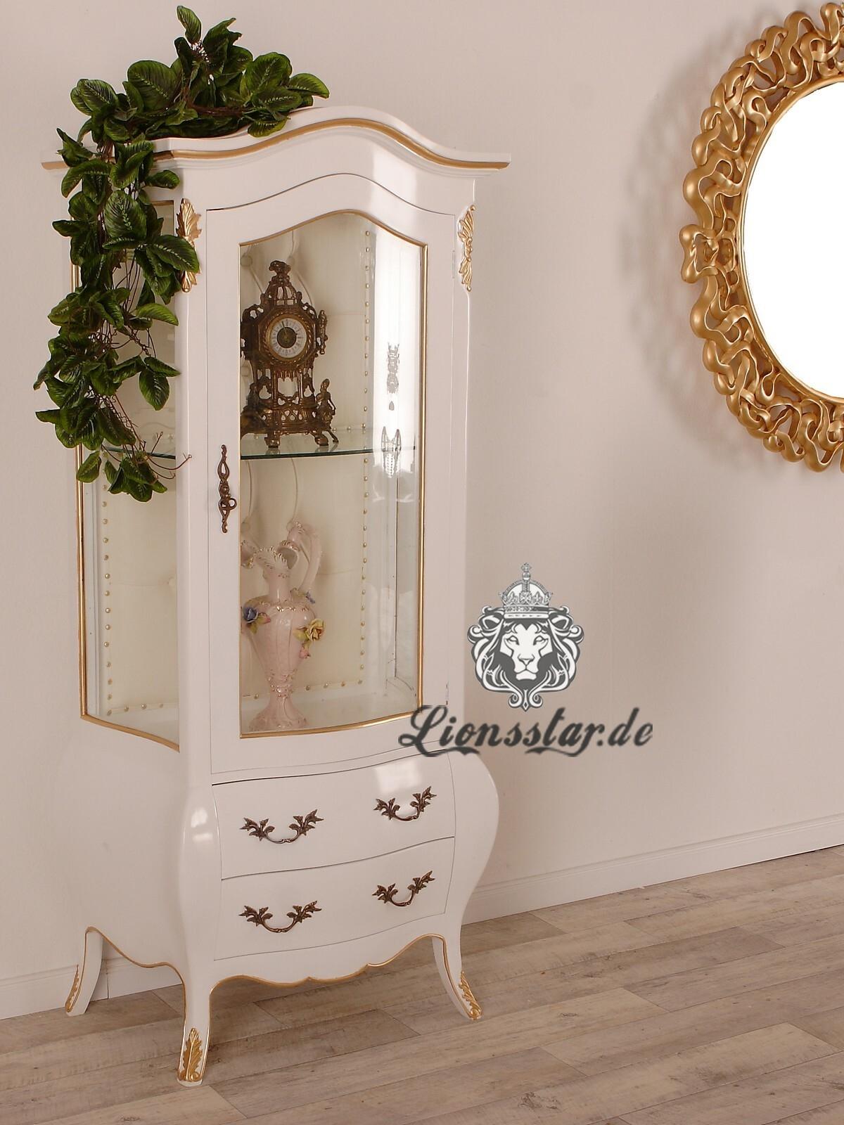 Luxus Vitrine Weiß