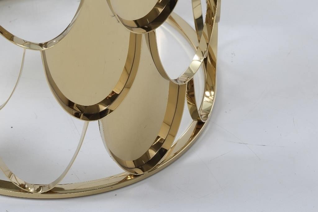 Designer Beistelltisch Galaxy Glas