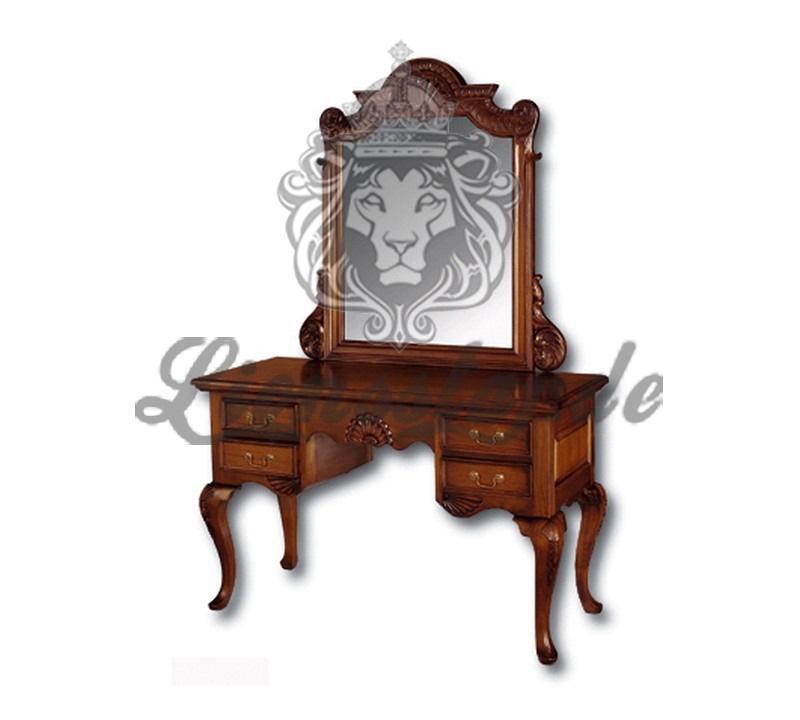 Spiegelkommode Barock Mahagoni Holz Sk.212