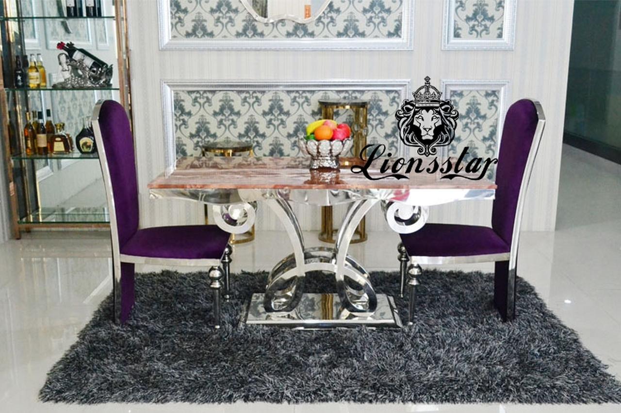 Lila Tischset