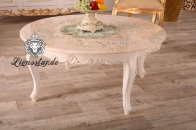 Couchtisch mit marmorplatte rund lionsstar gmbh for Couchtisch marmorplatte