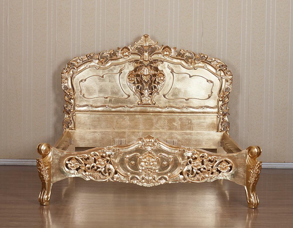 Rokoko Bett Königin