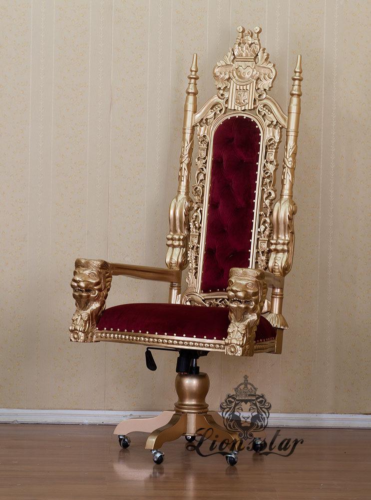 Bürostuhl Luxus Red Queen