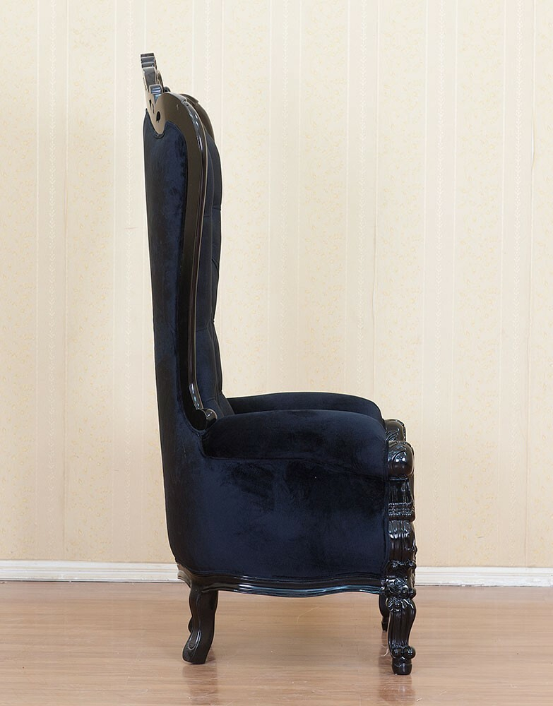 King Chair Schwarz