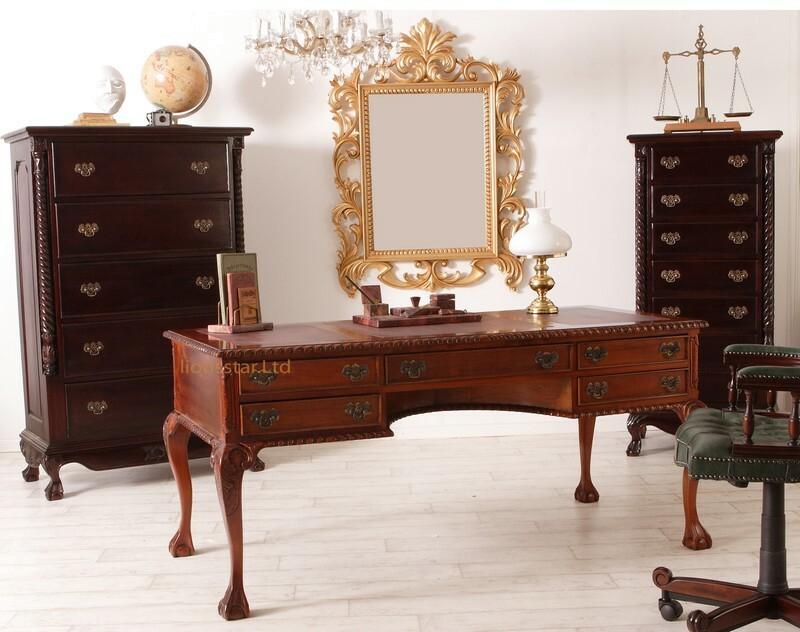 Chipendale Schreibtisch