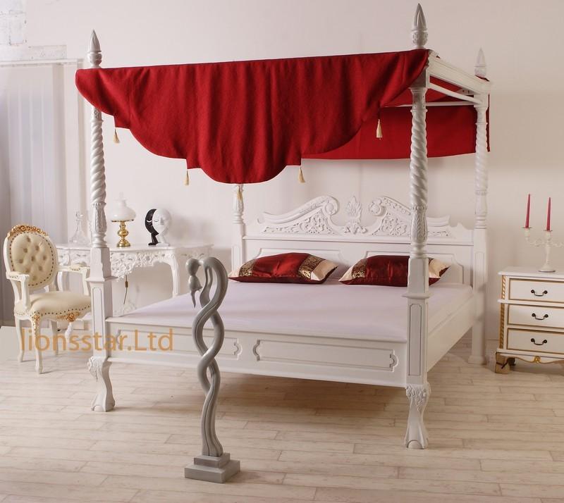 himmelbett tr umen mit unseren luxus himmelbetten lionsstar gmbh. Black Bedroom Furniture Sets. Home Design Ideas