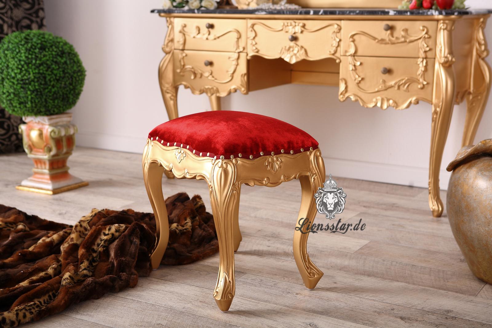 Spiegelkonsole Gold Marble Louis XV