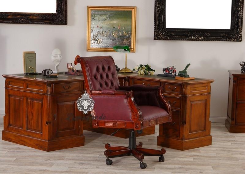 Schreibtischstuhl antik weiss  Schreibtischstuhl Antik | Lionsstar GmbH