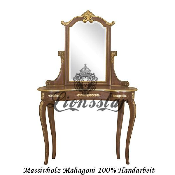 Spiegelkommode Barock Mahagoni Holz Sk.111