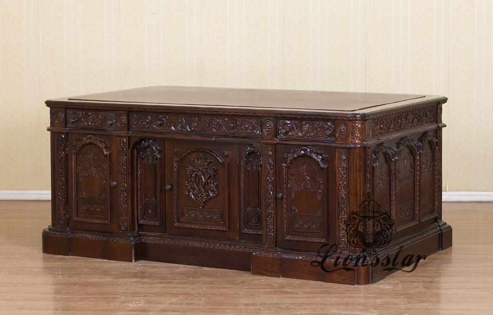 Antik Schreibtisch Präsident