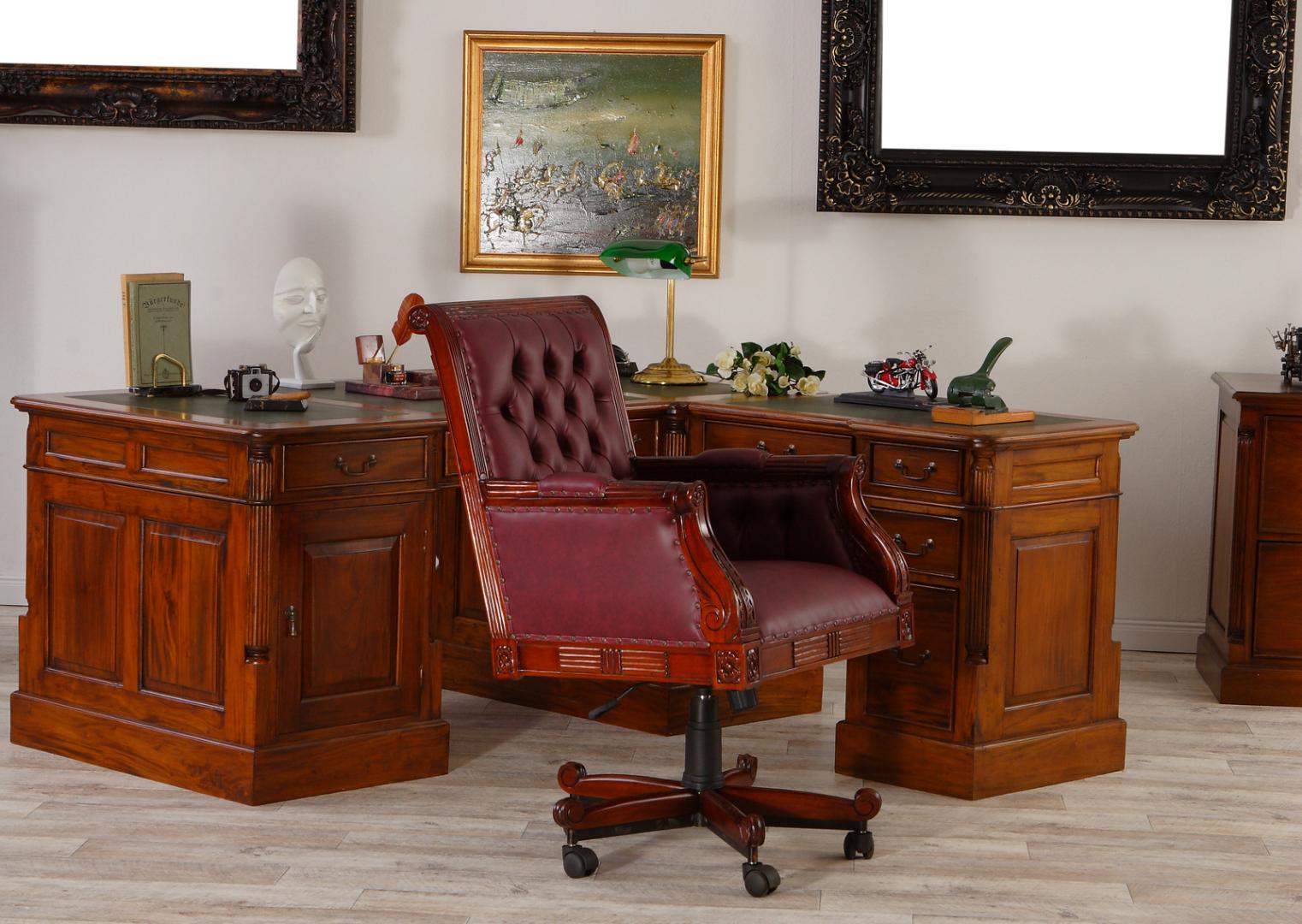 Schreibtischstuhl Antik