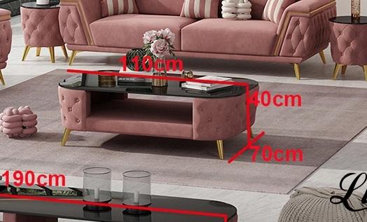 Luxus Design Couchtisch Memphis